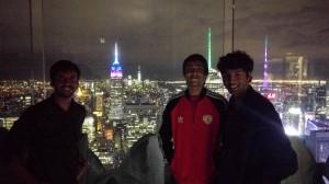 Top of the Rockefeller Center